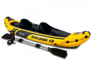 Intex Schlauchboot Aufblasbares Kajak Boot Explorer K2